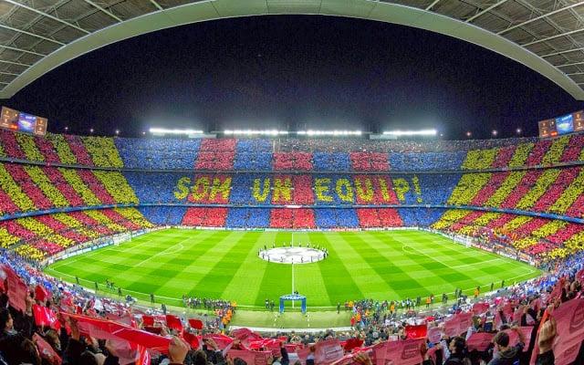 Ingressos do Tour pelo Estádio Camp Nou de Barcelona