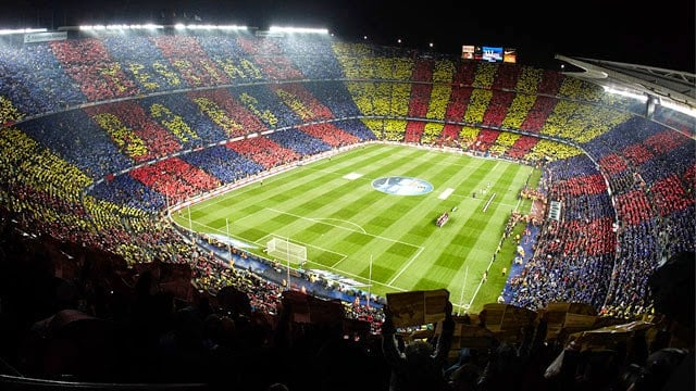 Estádio do Barcelona - Camp Nou