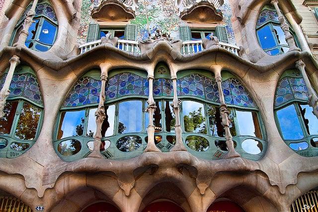 Casa Batlló em Barcelona