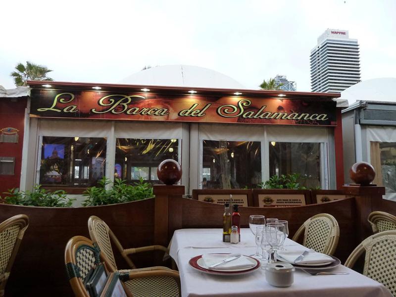 Restaurante La Barca del Salamanca em Barcelona