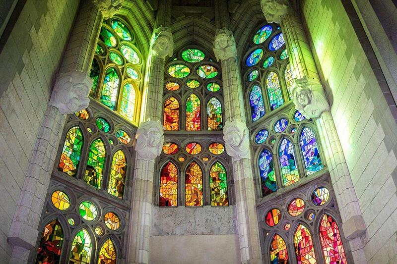 Vitrais da Igreja Sagrada Família