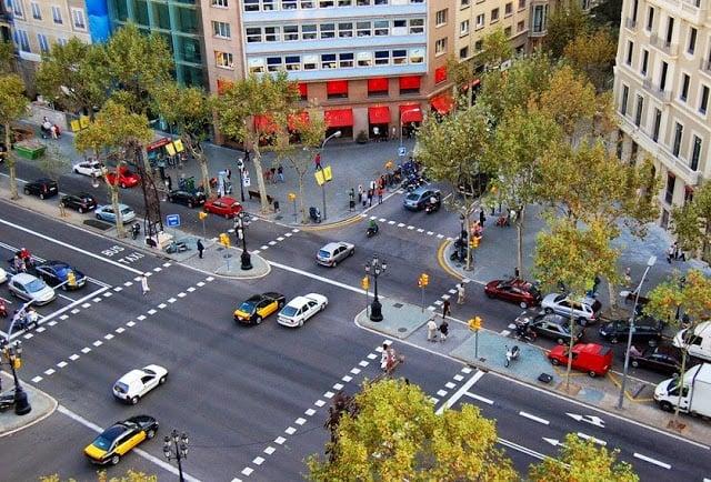 Dirigir em Barcelona