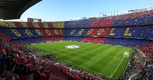 Passeio pelo Estádio Camp Nou do Barcelona
