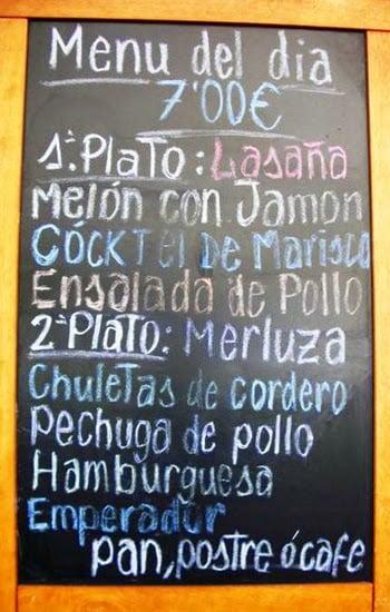 Como economizar com alimentação em Madri