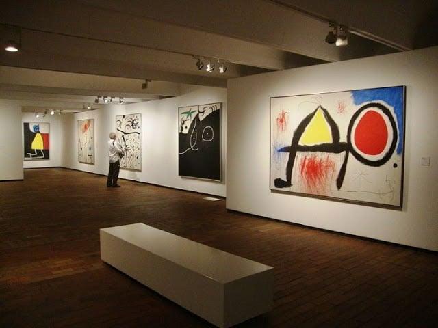Exposição no Museu Fundació Joan Miró