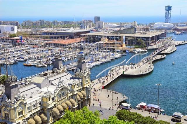 Escolhendo a época para viajar para Barcelona - primavera