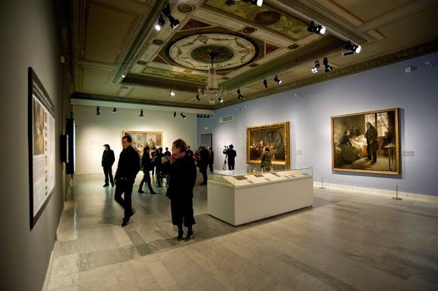 Entrada do Museu Picasso em Barcelona