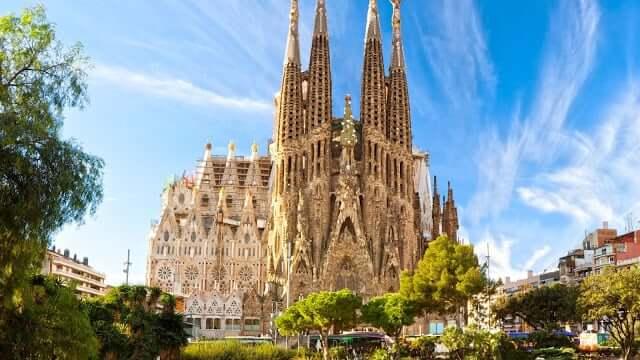 Templo da Sagrada Família de Barcelona