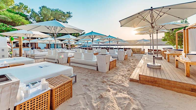 Beach Club Blue Marlin em Ibiza