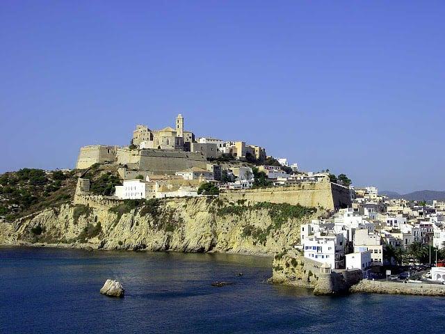 Centro histórico de Dalt Vila em Ibiza