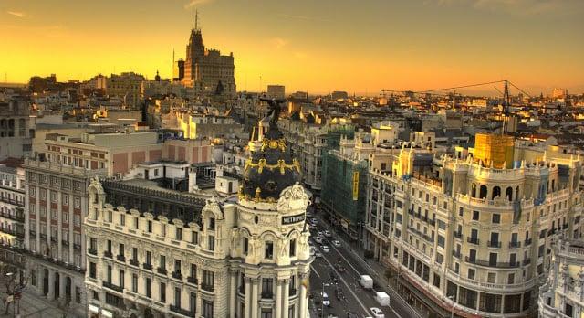 Dias de verão em Madri
