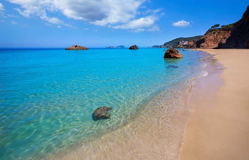 Praia Platja Agua Blanca em Ibiza