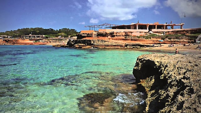 Praia Cala Conta em Ibiza