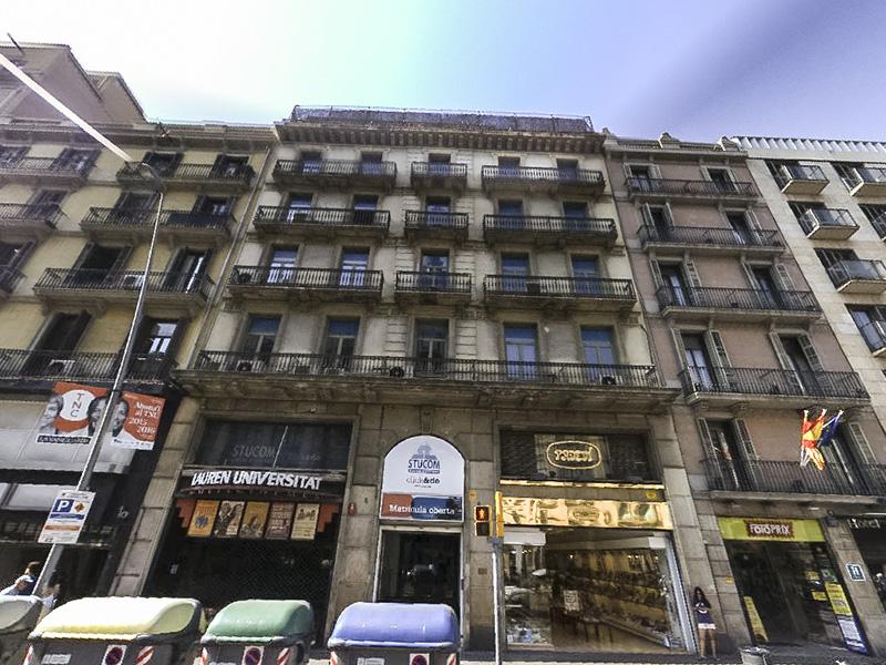 Lojas da Rua Pelai em Barcelona