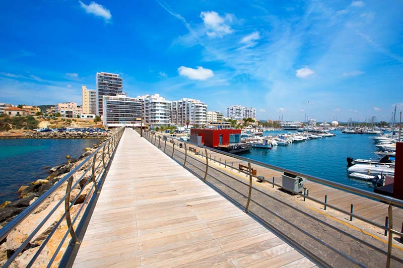 Sant Antoni de Portmany em Ibiza
