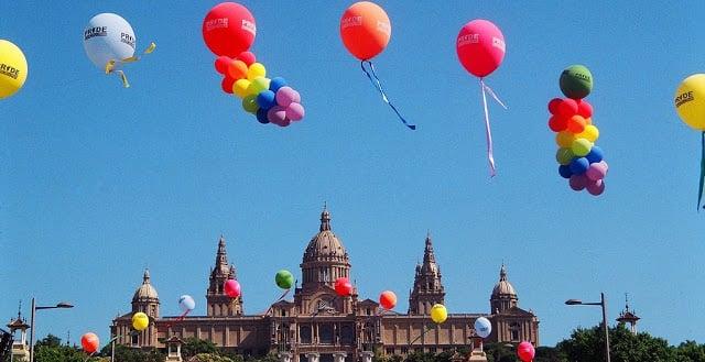 Baladas Gay e GLS em Barcelona