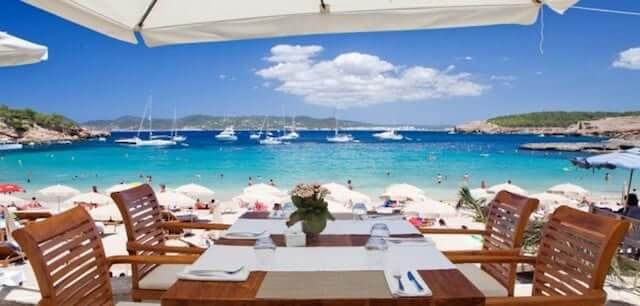 Cala Bassa Beach Club em Ibiza