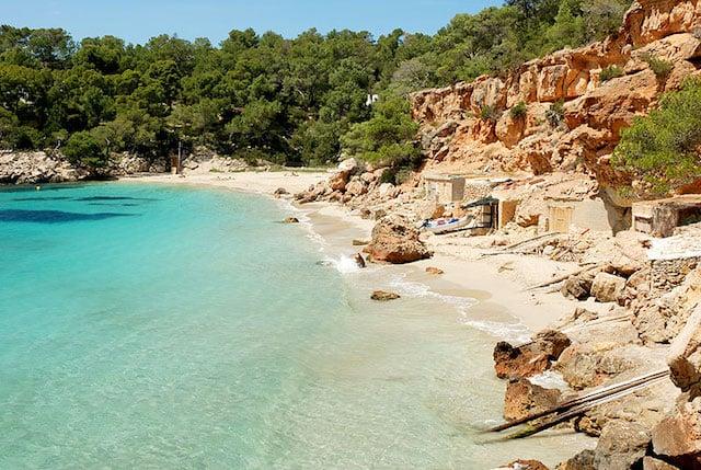 Cala Saladeta em Ibiza