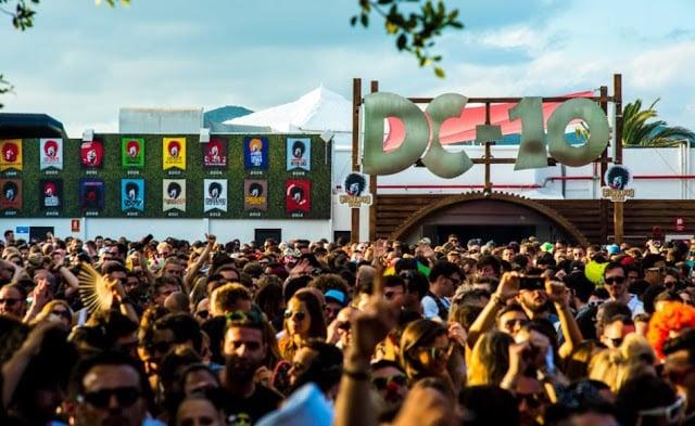 Balada DC 10 em Ibiza