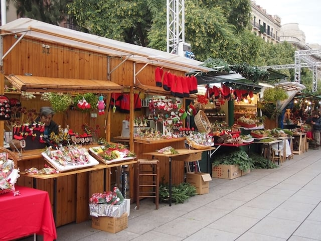 Feirinhas de Natal em Barcelona