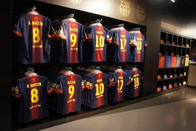Exposição do Museu do Barcelona FC