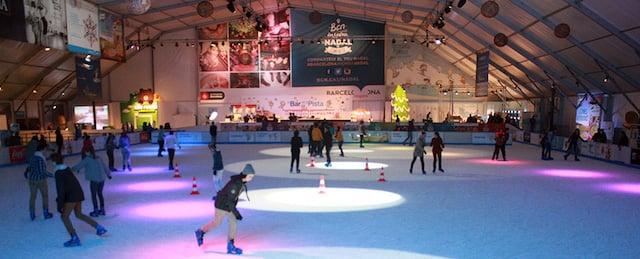 BarGelona - pista de gelo