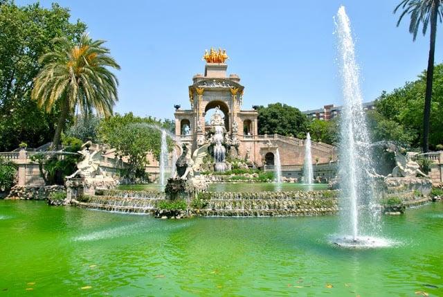Laguinho do Parque de la Ciutadella