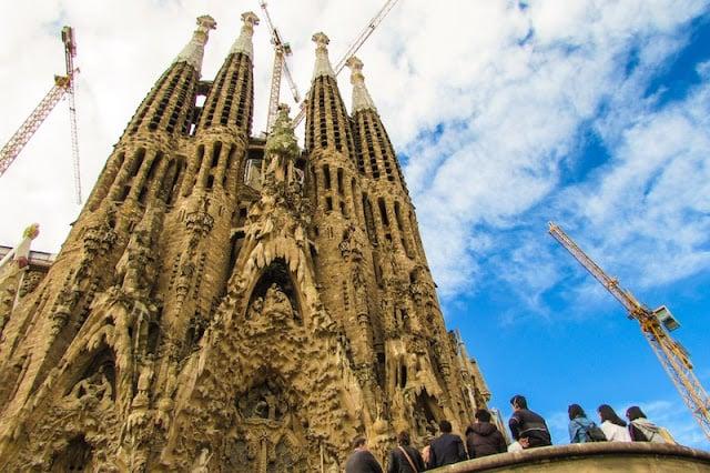 Visita à Sagrada Família em Barcelona