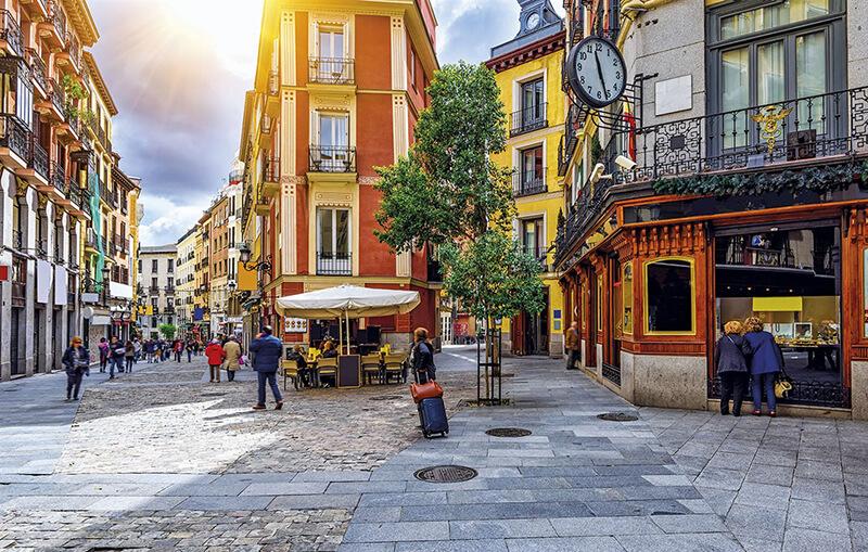 Barrio de Las Letras em Madri