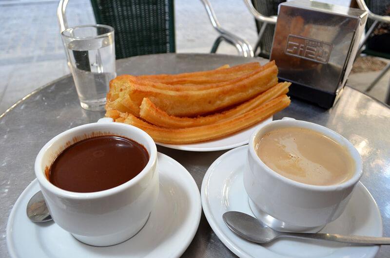 Chocolateria San Ginés em Madri