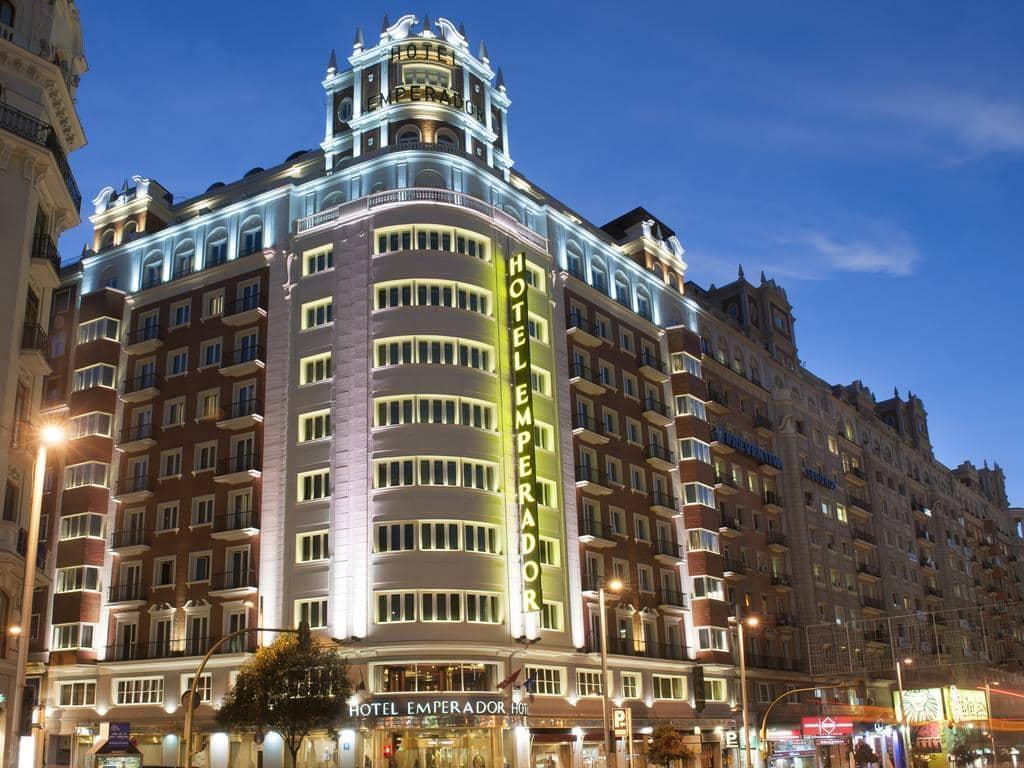 Hotel Emperador em Madri
