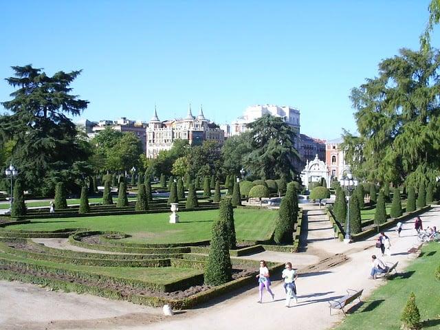 Parque del Retiro e jardins