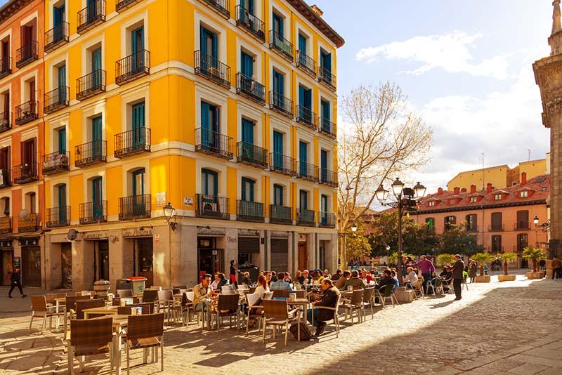 Região de La Latina em Madri