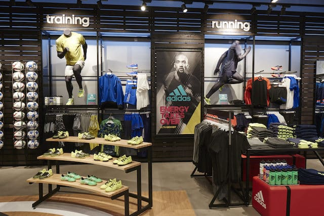 Loja da Adidas em Barcelona