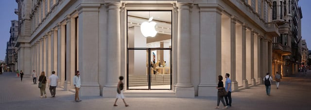 Lojas da Apple em Barcelona