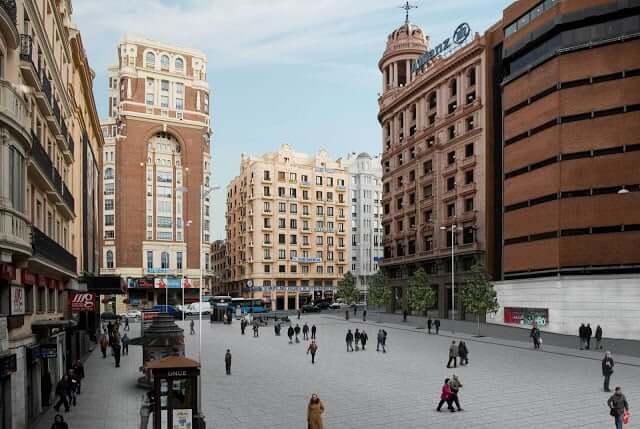 Região de Callao em Madri