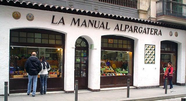 La Manual Alpargatera em Barcelona