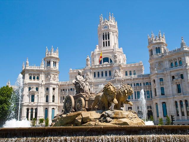 Madrid - Plaza Cibeles