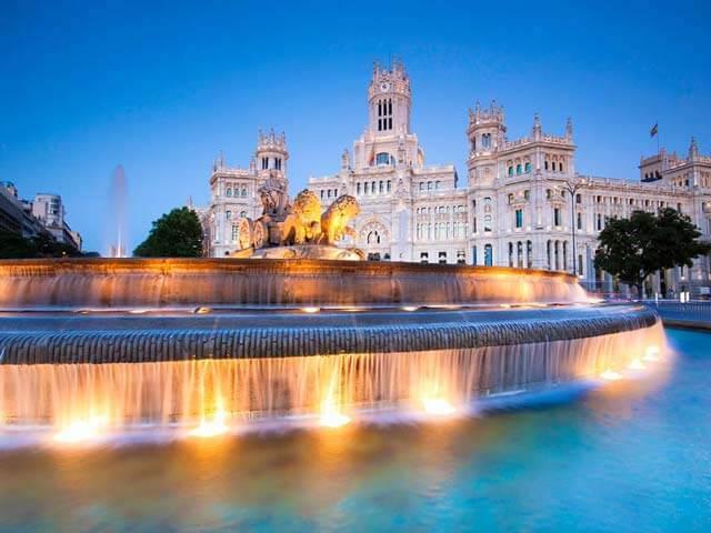Plaza Cibeles em Madri