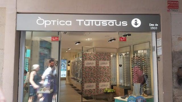 ÓpticaTutusaus Outlet em Barcelona