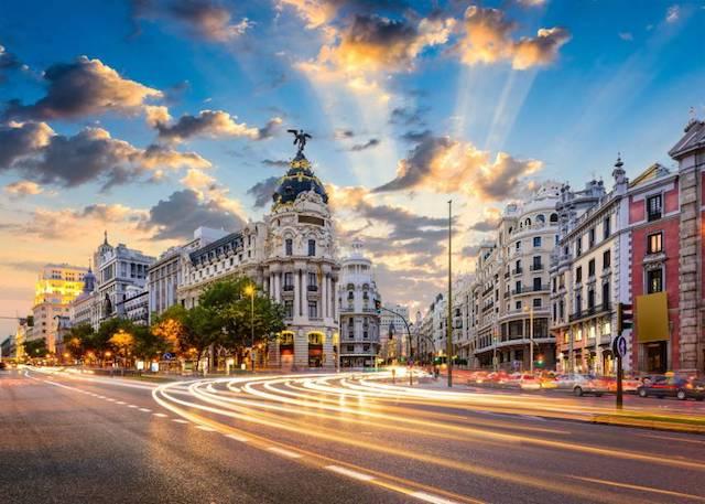Gran Via de Madri