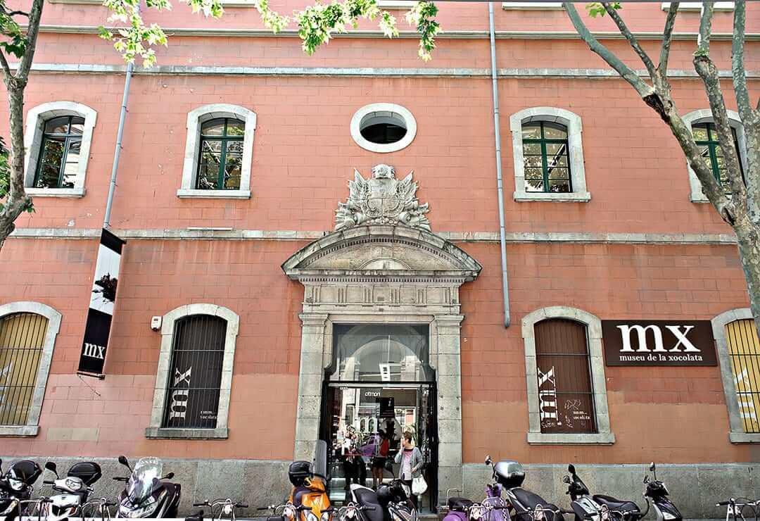 Fachada do Museu de la Xocolata em Barcelona