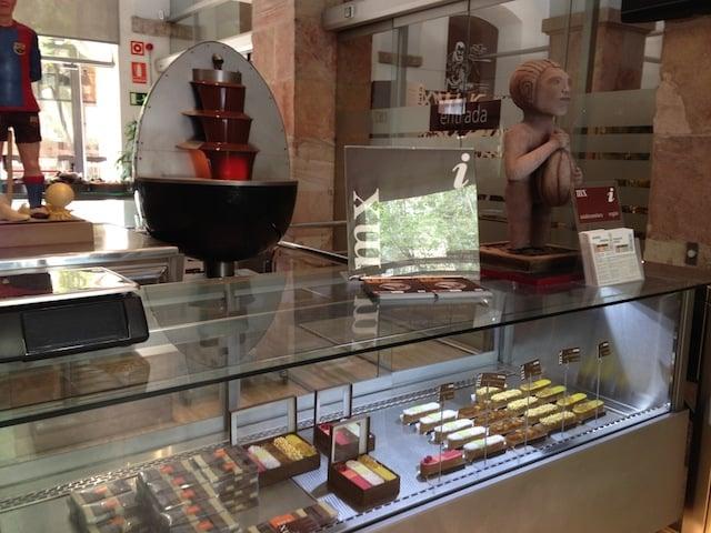 Loja do Museu de la Xocolata