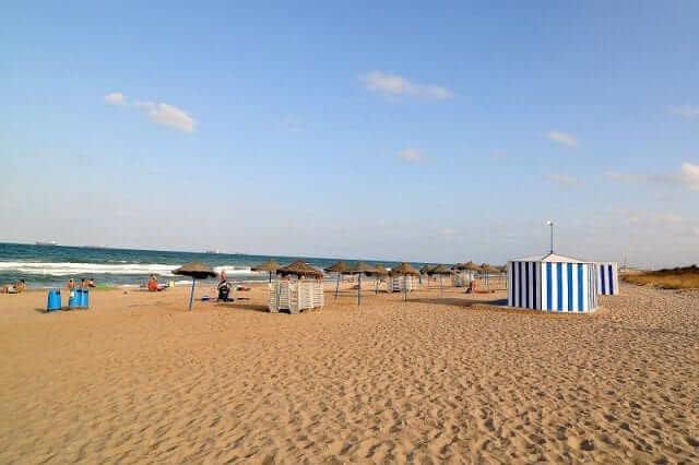 Melhores praias de Valência