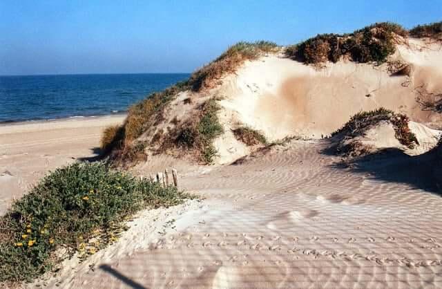Praia La Devesa em Valência