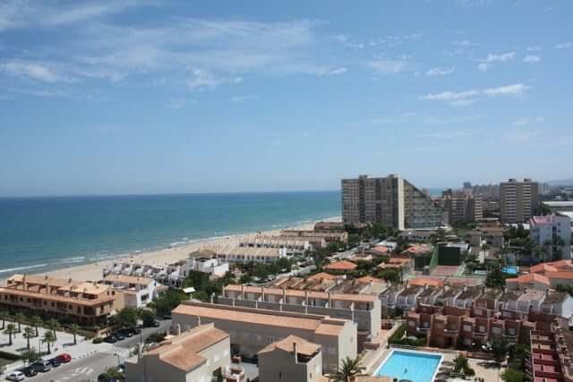 Praia Recatí-Perellonet em Valência