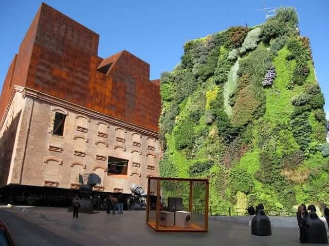 Caixa Forum em Madri