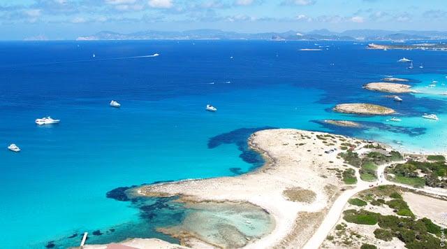 Vista de Formentera