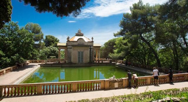 Jardins del Laberint d'Horta em Barcelona