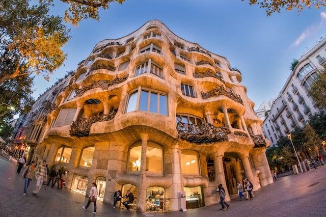 La Pedrera em Barcelona: Casa Milà